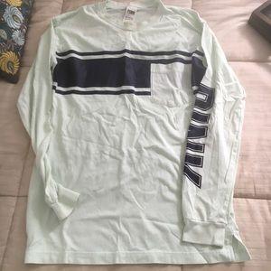 PINK long sleeved tee shirt